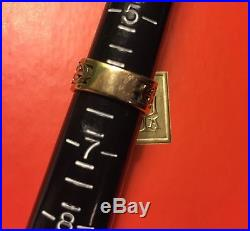 Lovely James Avery Open Adorned Heart 14k Gold Band Ring Size 6