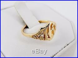 RARE Retired James Avery 14K Sweet 16 Ring Size 8