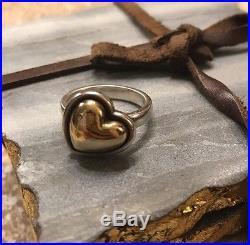 RETIRED/Rare James Avery Beloved Heart Ring 7.5