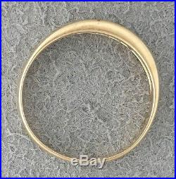 Retired DIAMONDS EMERALDS 14K yellow GOLD James Avery DEBRA RING Sz 8, band RARE