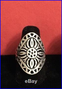Retired, HTF James Avery Flor Del Sol Ring -Sz. 7.5. Can be sized Up Or Down 2sz