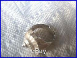 Retired HTF Rare James Avery Conch Shell Ring Sterling Silver 925 7.5 Size 7 1/2