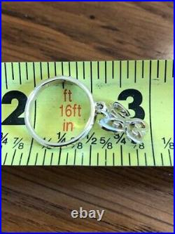 Retired James Avery 14K Yellow Gold Butterfly Charm Ring (Pre-Owned) (Modified)