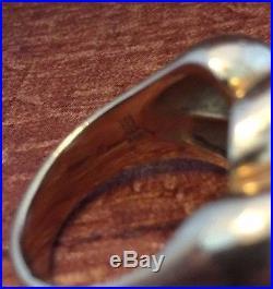 Retired James Avery 14k Gold Sisterhood Sz 7 Ring 585