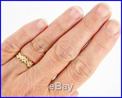 Retired James Avery 14k Margarita Daisy Ring Size 7 4.4 Grams
