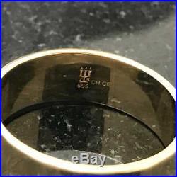 Retired James Avery 1.04ct Emerald Julietta Ring RG-938 Sz 9 14K Yellow Gold