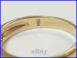 Retired James Avery Debra 14k Gold And Diamonds Ring