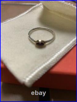 Retired James Avery Silver And Gold Ring