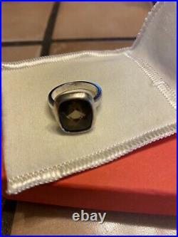 Retired James Avery Smoky Quartz Ring