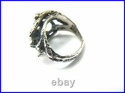 Retired James Avery Tree Branches Openwork Ring Sterling Silver VERY PRETTY