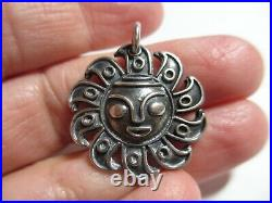 Xxrare Mint James Avery Cara Del Sol Sun Charm-un-cut Jump Ring&pristine! Nr